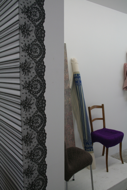 Wall paper prototype, Les Drapiers gallery, 2006